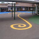Image for Playground markings