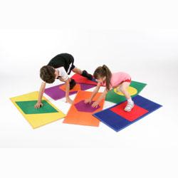 Image for ActivColour shape mats  Set of 6