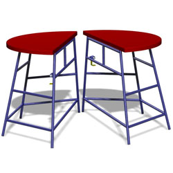 Image for Movement table Round, 2 piece