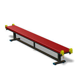 Image for Olympic padded balance benches  7' long