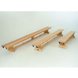 "Image for Traditional balance benches  8' 9"" long, 4 hooks"