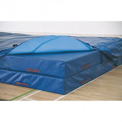 Image for High jump landing areas, 7 module with PVC cover