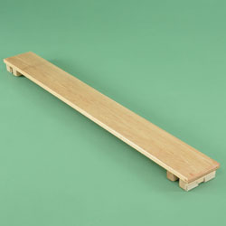 Image for Planks with blocks  6' long