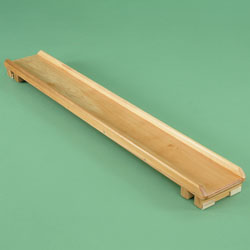 Image for Wood slides 6' long