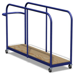 Image for Vertical mat trolley Junior size