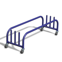 Image for Plank/pole storage trolley