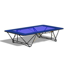 Image for Grasshopper folding trampolines PowerMesh bed
