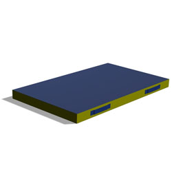Image for Trampoline spotter mat