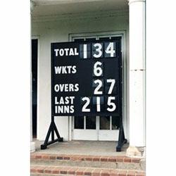 Image for Traditional cricket scoreboard  Scoreboard
