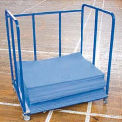 Image for Aerobic mat trolley