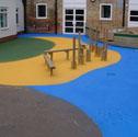Court/tarmac painting Block paint tarmac per m2