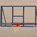 Basketball clear backboards 1220 x 915 x 10mm