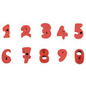 Climbing wall holds number set