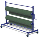 Carpet/mat trolley