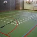 Flexipor polyurethane sports floor Flexipor MF