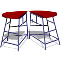 Movement table Round, 2 piece