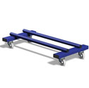 Balance beam trolley