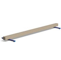 Lightweight floor balance beams