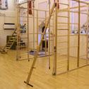 PE Peg ladders Complete