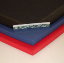 Blended gym mats 4