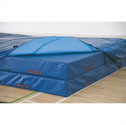 High jump landing areas, 7 module with PVC cover