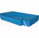 High jump landing area, 3 module  with PVC cover