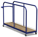 Vertical mat trolley Junior size