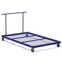 Horizontal mat trolley Junior size