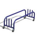 Plank/pole storage trolley