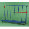 Semi inclined mat trolley
