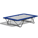 Goliath competition folding trampolines  With 13mm webbed bed