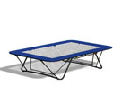 Junior folding trampolines PowerMesh bed