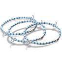 Trampoline elastic springs