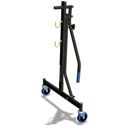 Trampoline lift/lower rollerstands  77A