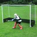 Freestanding hockey goals 152mm backboards