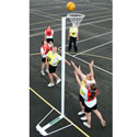 Competition netball posts