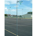 Standard socketed netball posts 16mm ring