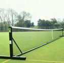 Freestanding tennis posts