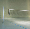 Volleyball standard net Practice net, steel headline