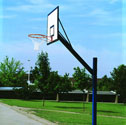 Basketball goals adjustable height Wood laminate board