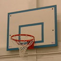 Basketball goals indoor fixed 1.2 x 0.9 size