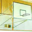 Basketball goals upward folding 2.2m projection