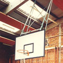 Basketball goals forward folding