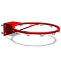 Basketball heavy duty ring