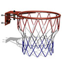 Basketball slam dunk ring, light