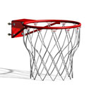 Basketball nets - White Practice 80g