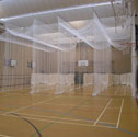 Cricket indoor nets triple lane